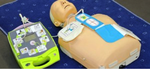 AED training for schools on all of our courses